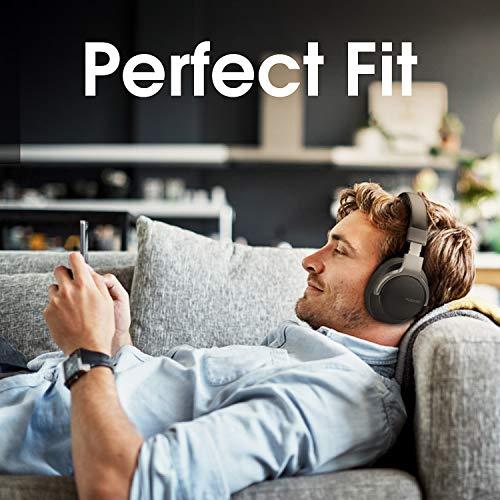 AUSDOM ANC8 Active Noise Cancelling Kopfhörer, Bluetooth Kopfhörer, Noise Cancelling Kopfhoerer mit Super HiFi, Faltbare, Komfortabler Ohrpolster, Integiertes Mikrofon, 20 Stunden Spielzeit - 4