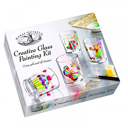 House of Crafts Creative Glass Painting Kit