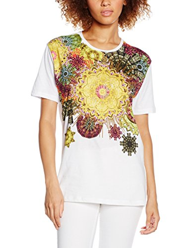 Versace Generico, T-Shirt Femme Blanc (BIANCO-3007)