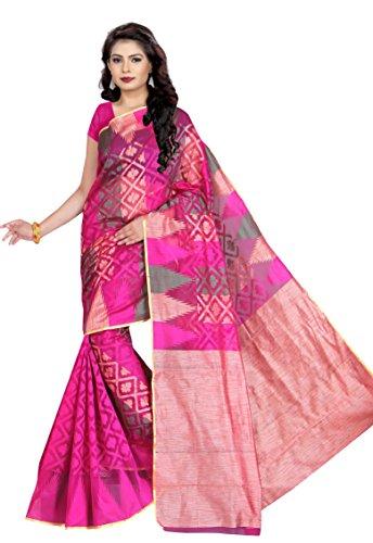 Sai International Women's Banarasi Silk Multi-Coloured Saree ( hari_80 )