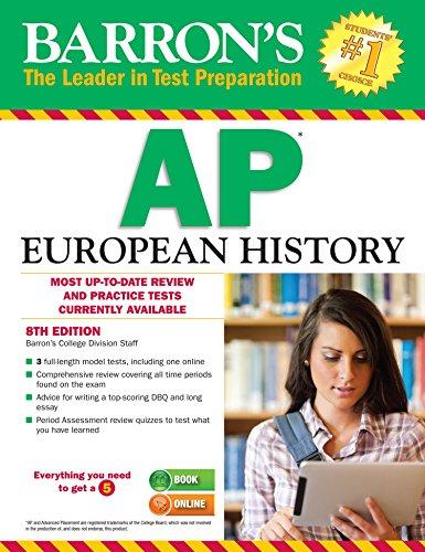 Barron's APEuropean History, 8th edition (Barron's AP European History)