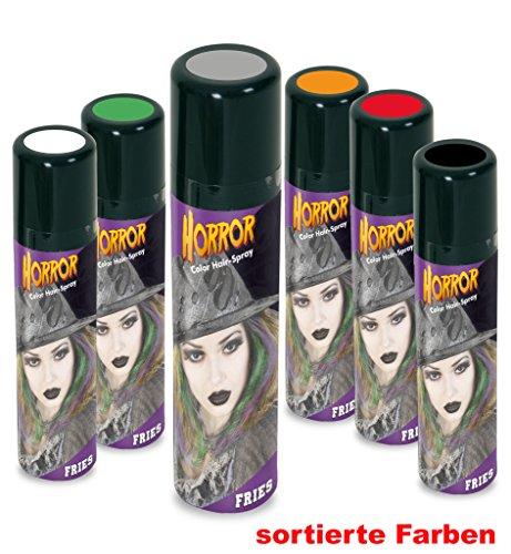 ay, verschiedene Farben, 100ml *Neu bei Pibivibi (grau) (Halloween Haarspray)