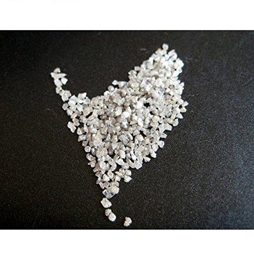 5Karat Diamant weiß, ungeschliffen Diamant, Rohdiamant, gebohrt roh Diamant Chips, roh ungeschliffen Diamant, 1mm bis 2mm ca.