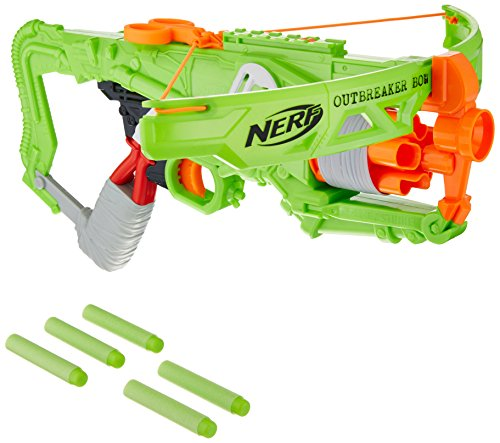 Nerf B9093 Ballesta de Juguete Arma de Juguete - Armas de Juguete (Ballesta de Juguete, 8 Año(s), Niño, Verde, De plástico, 1 Pieza(s))