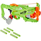 Nerf Zombie Strike Outbreaker Bow -- Real Crossbow Action -- 5-Dart Rotating Drum -- Includes 5 Official Nerf Zombie Strike Elite Darts