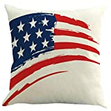 OPAKY Independence Day Linen Creative Kissenbezug Kissenbezug Car Pillow Cover