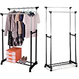 folding clothes rail. Black Bedroom Furniture Sets. Home Design Ideas