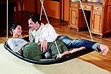 Relax-Schaukel - LifestylePlus XL (extra lang & extra breit) / Maße: 166 x 76 x 25 cm / Gewicht: 10 kg / Farbe: schwarz