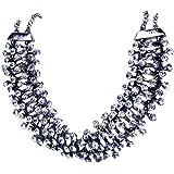 QIYUN.Z Wei?Bunte Breite Harz Neue Mode-Stil Frauen Bib Halsband Aussage Kragen Halskette Halskette Anhänger Halsketten Ketten