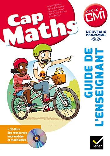 Cap Maths CM1 : Guide de l'enseignant (1Cédérom) por From Hatier