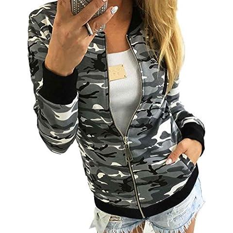 RETUROM Las mujeres nuevo estilo camuflaje capa de la chaqueta del otoño de la calle del invierno de la chaqueta de las mujeres chaquetas