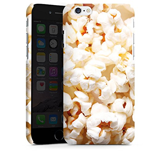 Apple iPhone X Silikon Hülle Case Schutzhülle Popcorn Kino Poppin Corn Premium Case matt