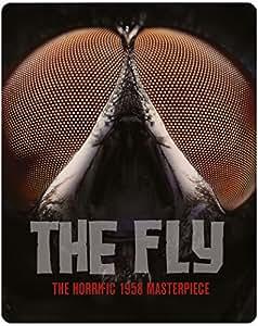 Die Fliege - The Fly (1958) Steelbook Blu-Ray (Limited Steelbook Edition aus UK mit deutscher Tonspur)