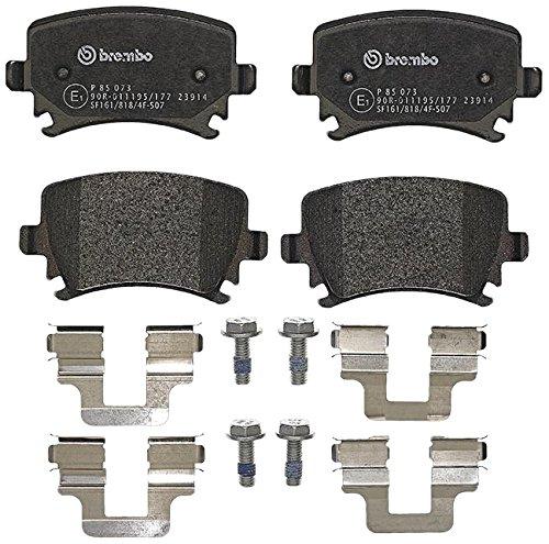 Preisvergleich Produktbild Brembo P 85 073 Bremsbelagsatz, Scheibenbremse - (4-teilig)