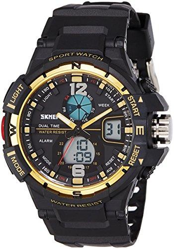 Skmei 1148BBGO  Analog-Digital Watch For Unisex