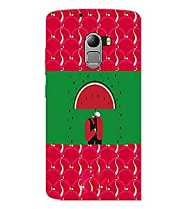 PrintDhaba Funny Image D-3770 Back Case Cover for LENOVO K4 NOTE A7010 (Multi-Coloured)
