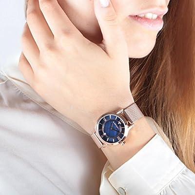MASERATI Reloj Analógico para Mujer de Cuarzo con Correa en Acero Inoxidable R8853118503 de MASERATI