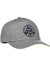 Mens Varsity Baseball Cap, Grey (Mid Grey 027), (Manufacturer Size: One Size) Tommy Hilfiger