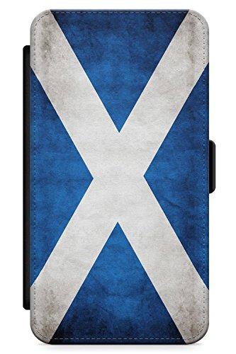 Case Warehouse iPhone X Scotland Saltire Flag Schutz Gummi Handyhülle TPU Bumper Flagge Saltire Gälisch Schottisch Hochland Flag Case Zubehör