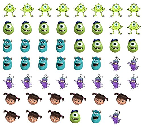 Image of Monsters Inc Collection (Nail Art Decals C3)