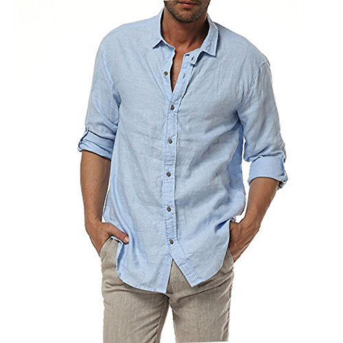 Mens linen shirt for Mens linen dress shirt