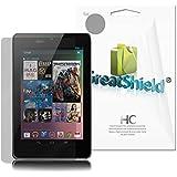 GreatShield Film protecteur d'écran pour Google Nexus 7 1ère génération 7-Inch Tablette (Lot de 3)