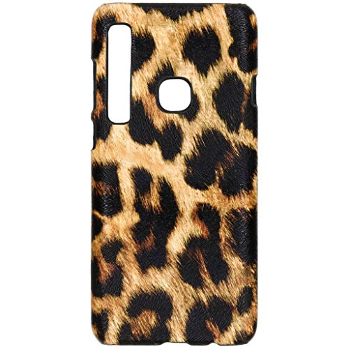 hCase Samsung Galaxy A9 (2018) Hülle - Leopard, Wildkatze, Tiermuster - Hard Case Handyhülle Leopard Hard Case Cover