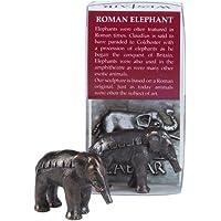 Replica in miniatura, colore: bronzo anticato, motivo: elefante