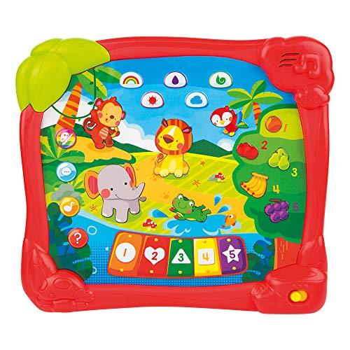 WinFun-44753 Tablet Educativa Animales de la Jungla En Español (Colorbaby 44753)