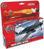 Airfix A50082 Focke Wulf Fw190D 1:72 Scale Model Small Starter Set