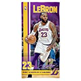 WinCraft NBA LEBRON JAMES #23 - Lakers Spectra Player Beach Towel 75 cm x 150 cm