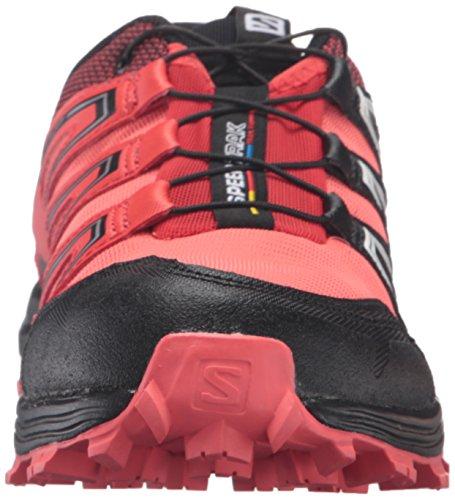 Salomon L39063600, Scarpe da Trail Running Donna, Nero Arancione