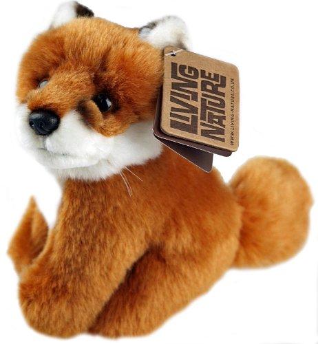 baby-fox-cub-15-cm-sitting-plush-soft-cuddly-animal-toy-living-nature