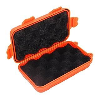 3 pcs Orange wasserdicht tragbar Outdoor Survival Erste Hilfe Werkzeuge Aufbewahrung-Box Camping Reisen, Wandern