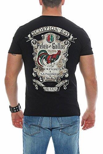 Scorpion Bay uomo maglietta MTBS3184 - Nero, L