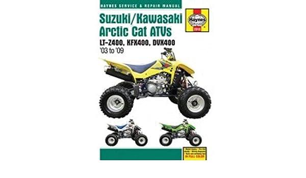 Reparaturanleitung - 702.51.10 - 2910 Suzuki/Kawasaki ATV Arctic Cat ...