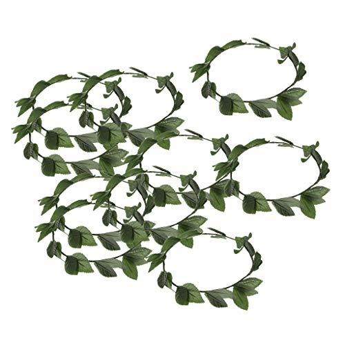 FLAMEER 10 Blätter Stirnband Haarbänder Haarschmuck ()