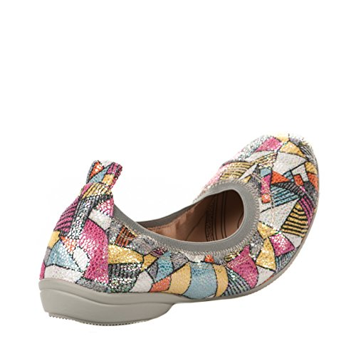 Ballerines femme - FUGITIVE - Multicolore - NOZY - Millim Multicolore