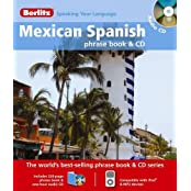 Berlitz: Mexican Spanish Phrase Book & CD (Berlitz Phrase Book & CD)