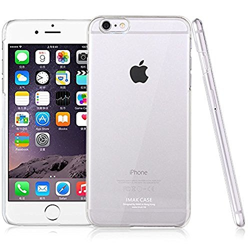 Imak Crystal Clear Hot Transparent Flip Thin Hard Bumper Back Case Cover For Apple iPhone 6 Plus 5.5  available at amazon for Rs.129