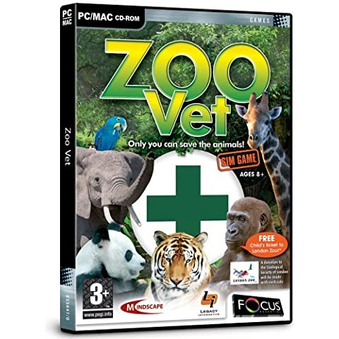 Zoo Vet (PC) by FOCUS MULTIMEDIA