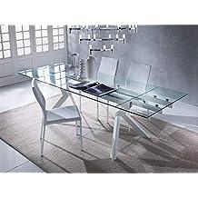 Amazon.it: Tavoli in vetro allungabili