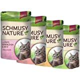 Schmusy | Nature Multipack | 4 x 12 x 100 g