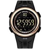 Anyeda Multifunktionale Uhr Paar Männer Elektronische Uhr Herzfrequenz und Aktivitätsmessung Uhren Mädchen Blau Kinder Uhren Digital