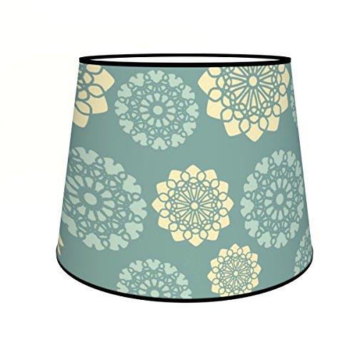 Abat-jours 7111301728845 Conique Gilla Lampadaire, Tissus/PVC, Multicolore
