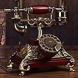 Telephony Neue Drehscheibe Im Europäischen Stil, Telefon, Antiken Telefon, Alte Maschine Zimmer, Home Creative Box Mail, Wählen Sie Dial (Shuang Ling) Leder Seil