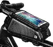 Grefay Fahrrad Rahmentaschen Wasserdicht Farhrradlenkertasche Oberrohrtasche Handytasche Geeignet für Smartpho