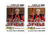 Vera F - Birkenbihl - Kopfspiele Vol - 1+2 (Episoden 1-22) Die kpl - TV-Serie [2 DVDs] - Mit Vera F. Birkenbihl