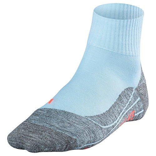 FALKE tK 5 chaussettes de trekking pour femme manches courtes Bleu - Sky