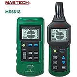 Mastech Ms6818Advanced testeur multifonctions détecteur de câble 12~ 400V Tuyau Locator au mètre